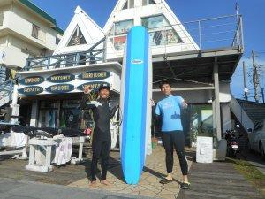 初サーフィン、ハマっちゃったみたいね(^O^)