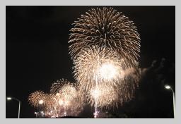 2010年11月27日 藤沢市花火大会!