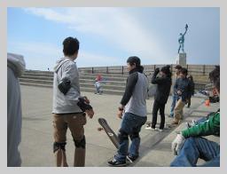 2012 【銅像前スケボー練習会☆】